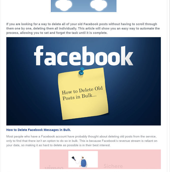 Mix · How to Delete Old Facebook Posts in Bulk  (Select All