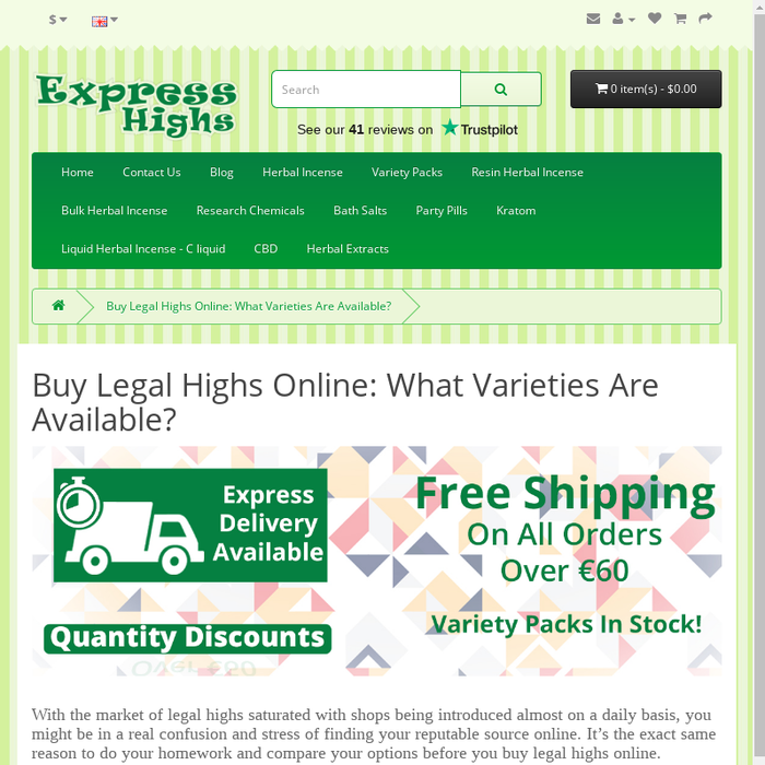 Mix · Buy Legal Highs Online: What Varieties Are Available?