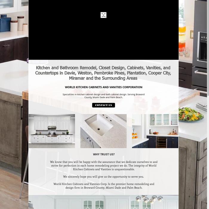 ... Closet Design, Bathroom & Kitchen Cabinets, Vanities, & Countertops in Davie, Cooper City, Miramar, Plantation, Pembroke Pines, & Weston, FL.