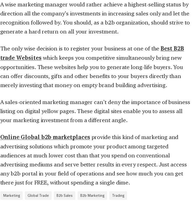 Mix · How Global B2B Marketplace Help Your Increase Sales