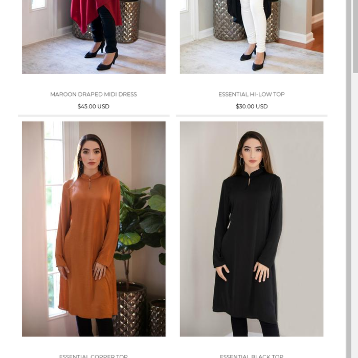 15d23e3756fa Modest Tops OnlineFind high quality and modest clothes online at B. Zarina,  the one stop online destination to buy modest clothes at reasonable prices.