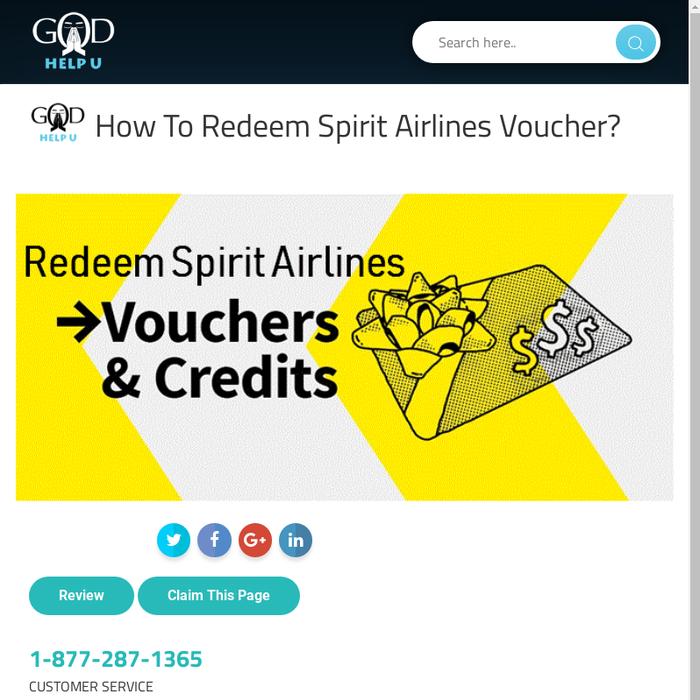 Mix · How To Redeem Spirit Airlines Voucher?