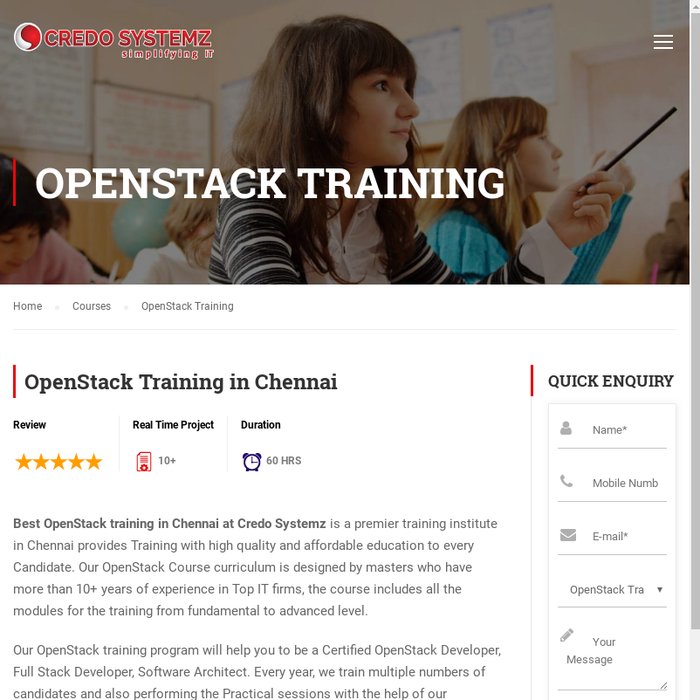 Mix Openstack Training In Chennai Openstack Certification In Chennai