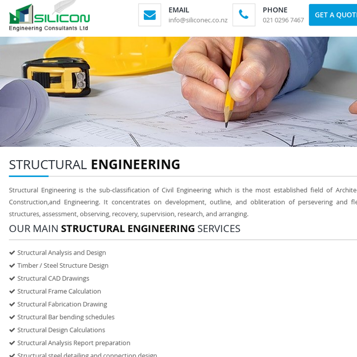 Mix · Structural Engineering Services New Zealand
