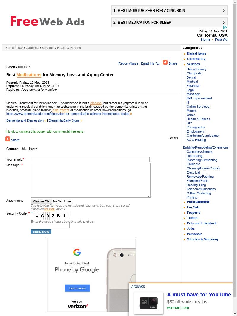 Mix · Search Domain · freebestads com