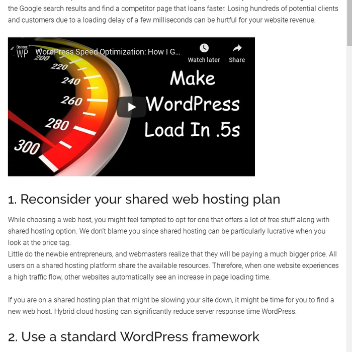Mix - Slow WordPress Website: 7 Quick Hacks to Fix Page Spee