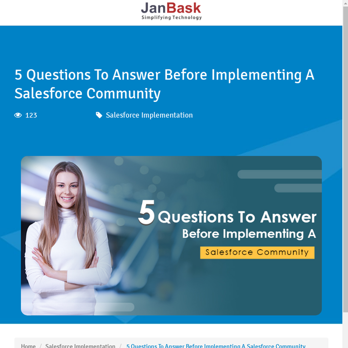 Mix · 5 Questions To Answer Before Implementing A Salesforce