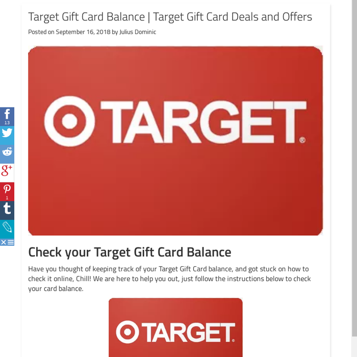 Mix Target Gift Card Balance Target Gift Card Deals And Offers