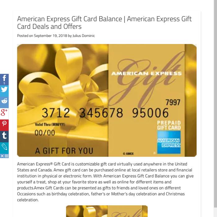 American Express Deals >> Mix American Express Gift Card Balance American Express Gift