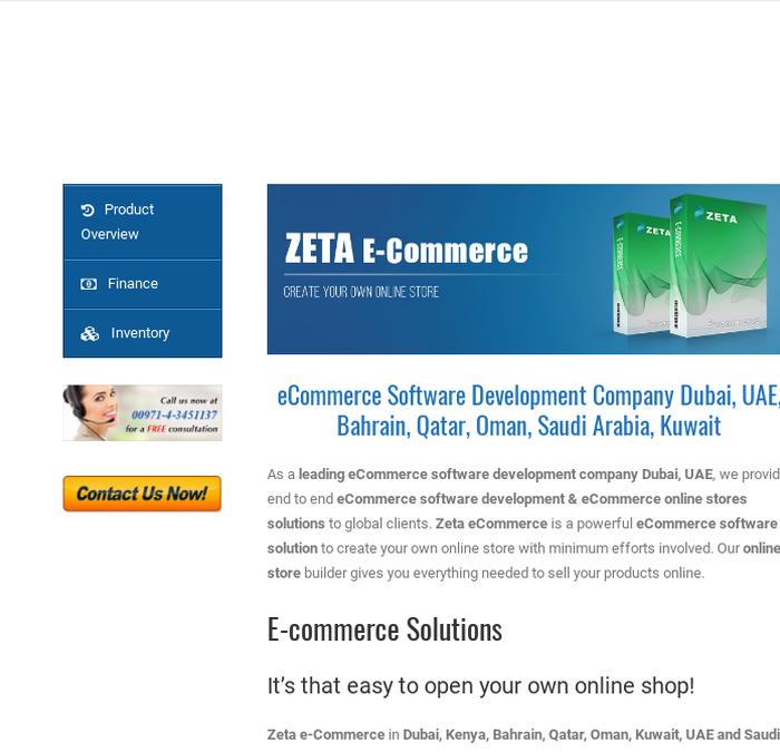 Mix · Ecommerce Software Development Dubai, Qatar, Oman   Zeta