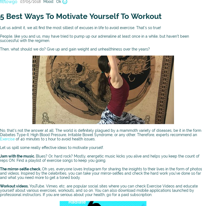 Mix · 5 Best Ways To Motivate Yourself To Workout