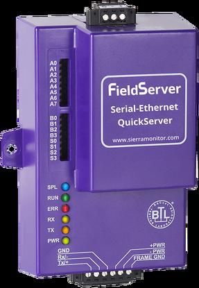 Mix · Modbus RTU to Modbus TCP QuickServer Gateway