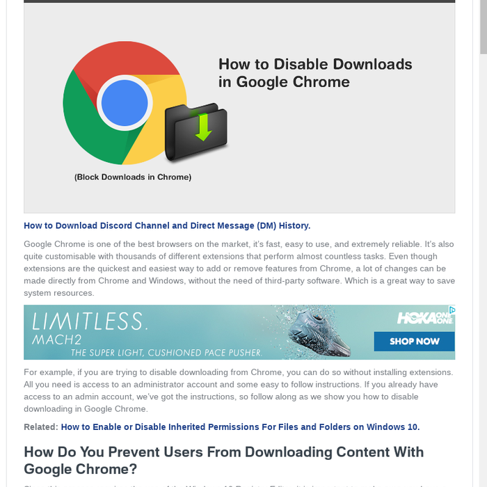 Mix · How to Disable Downloads in Google Chrome  (Block Downloading