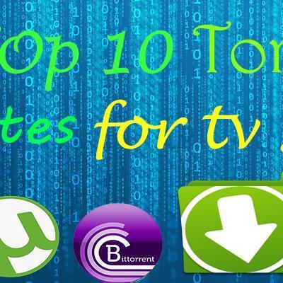 top ten tv show torrent sites