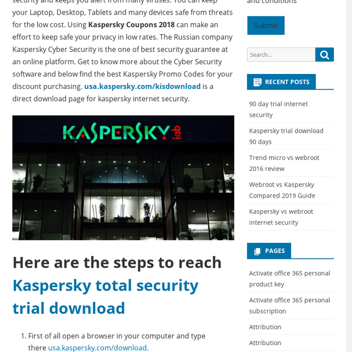 Mix · Kaspersky total security trial download - Tech knowledge for