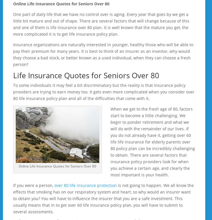 Mix Online Life Insurance Quotes For Seniors Over 60 Inspiration Life Insurance Quotes For Seniors Over 80