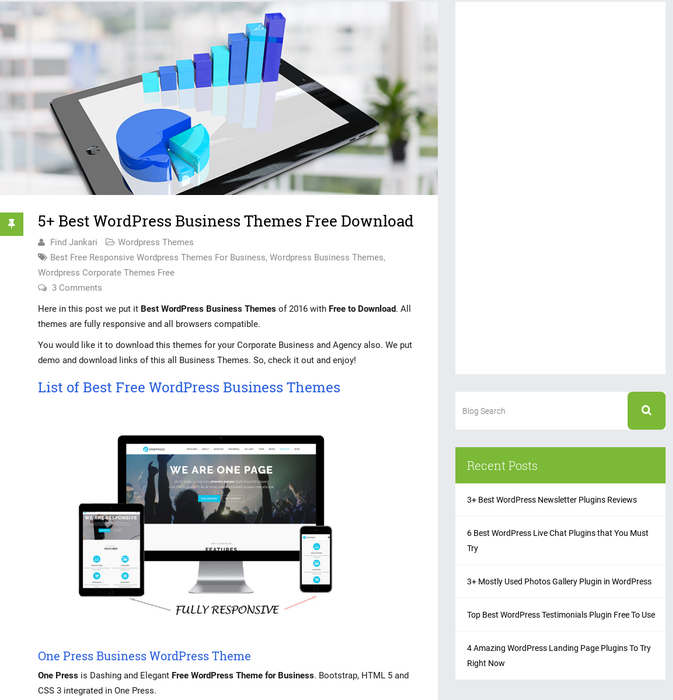 Mix · 5+ Best WordPress Business Themes Free Download
