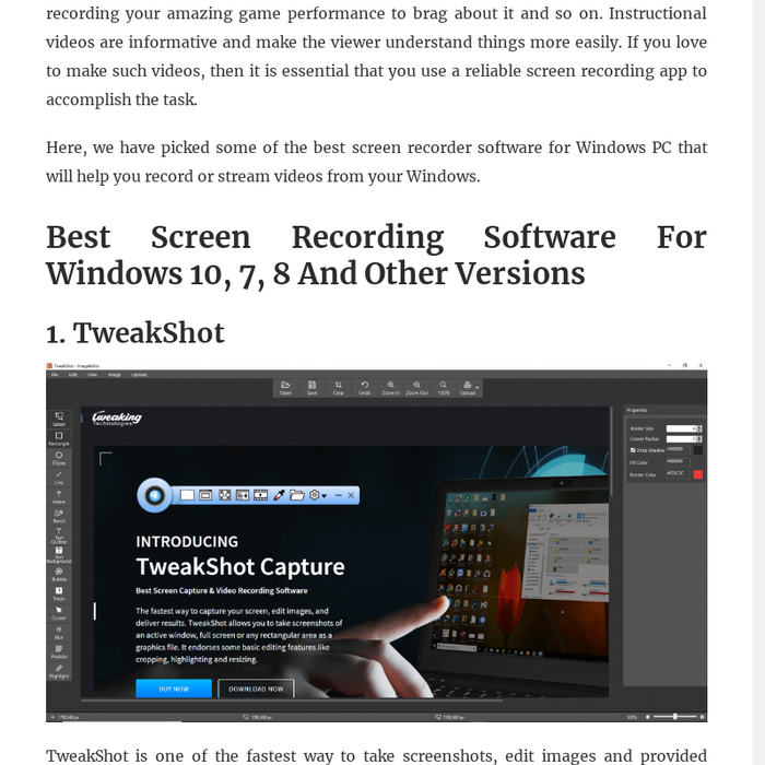 Mix · 14 Best Screen Recorder Software For Windows In 2019