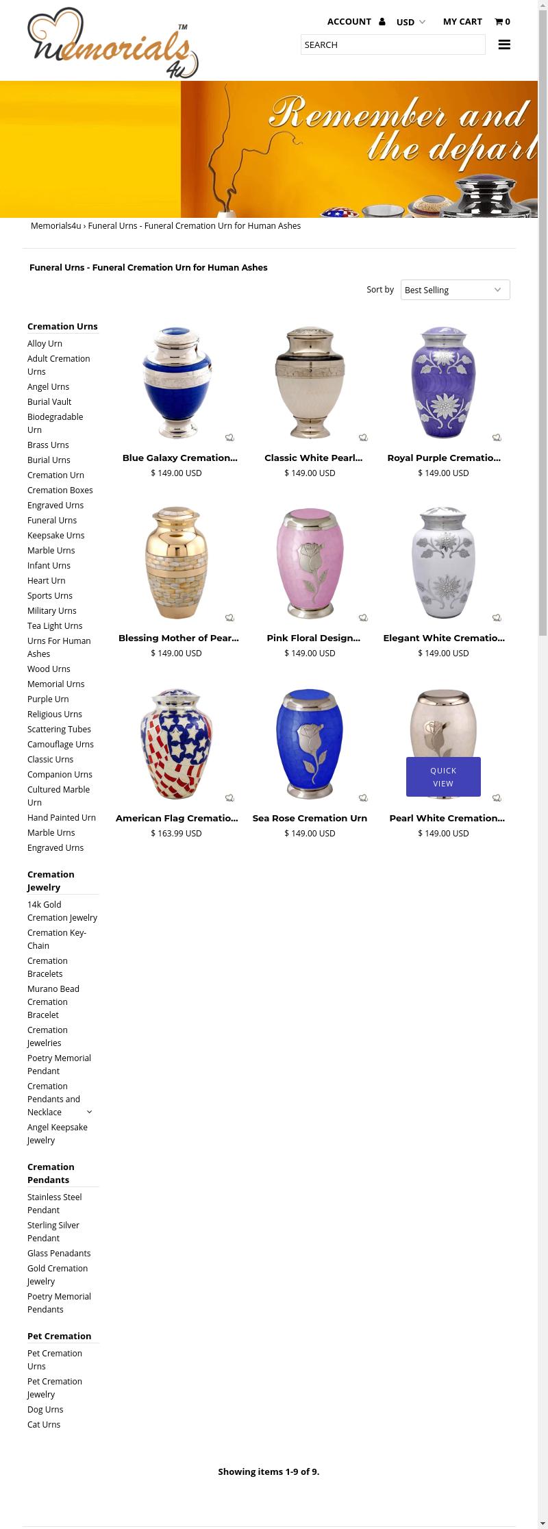 Mix Search Domain Memorials4u Com