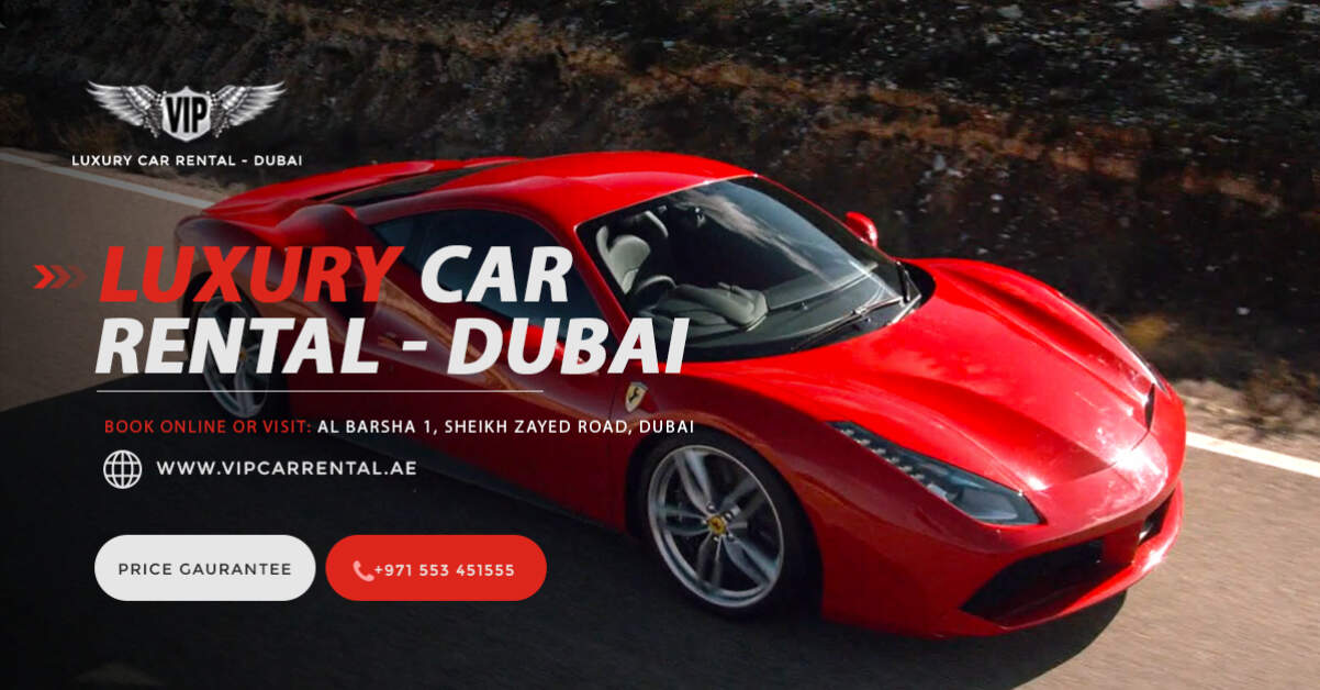 Super Car: How Much Does It Cost To Rent A Lambo In Dubai