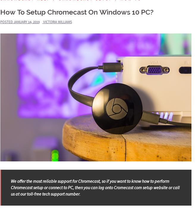 Mix · How To Setup Chromecast On Windows 10 PC?