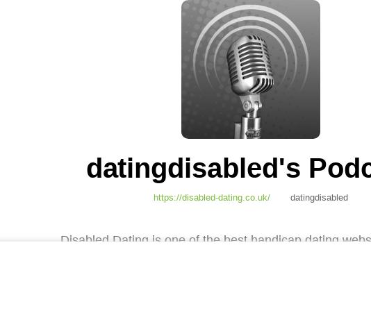 handicap dating sites uk