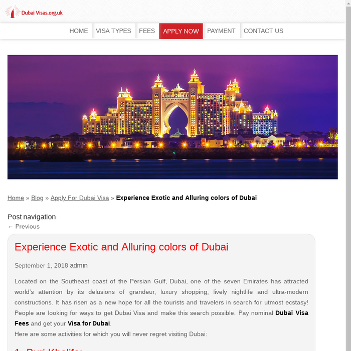 Mix · Get visa for dubai & Fascinating and Enthralling