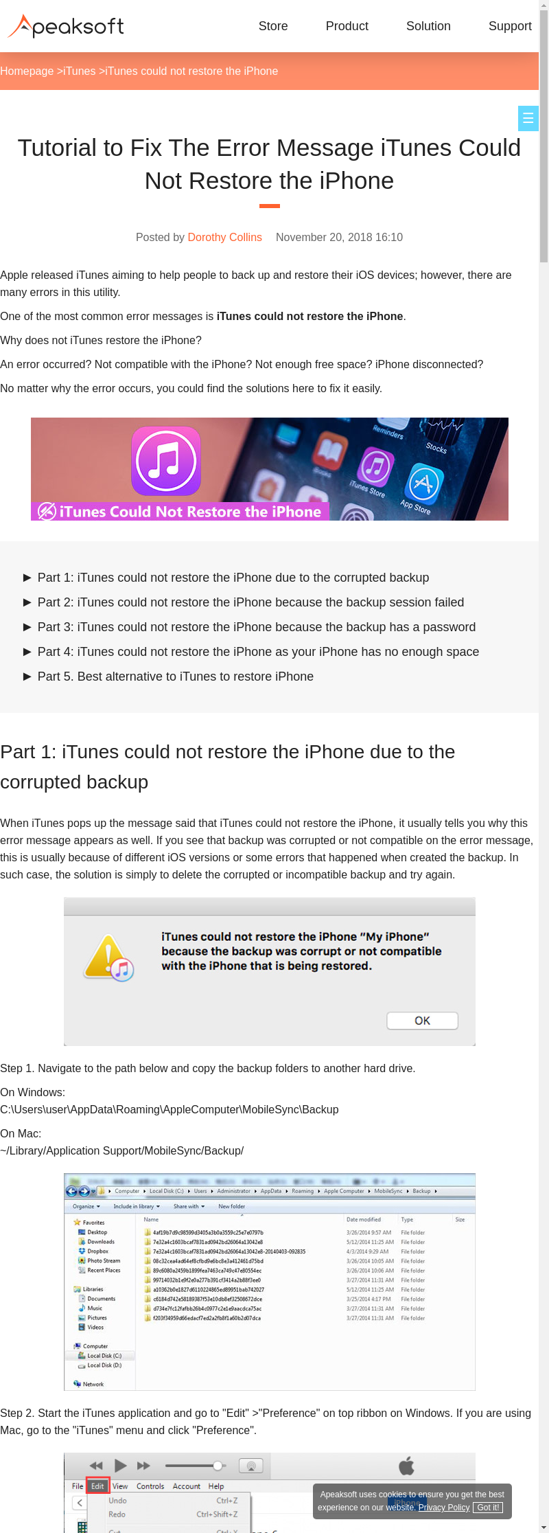 Mix · 4 Real Fixes when iTunes Could Not Restore the iPhone