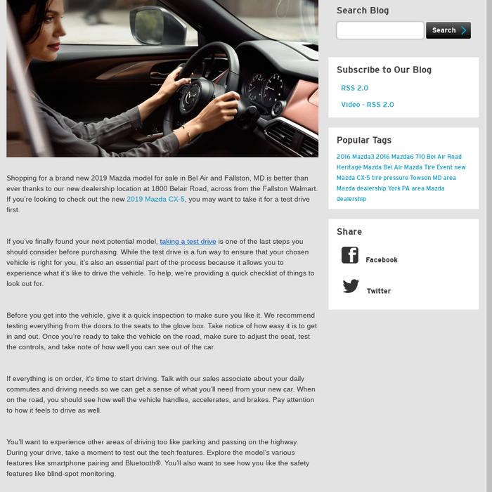 Mazda Dealership Md >> Mazdabelair Posts