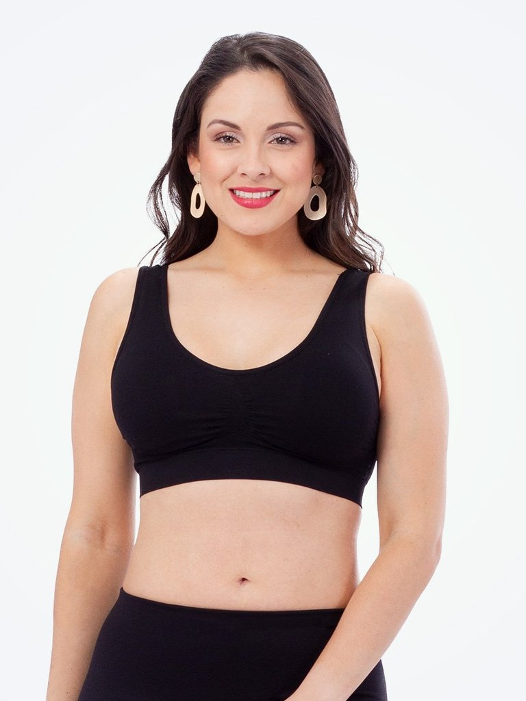 f53c377b2b1 ... Comfort Shaper BraThis Empetua shaping bra makes back fat and bulges  vanish- and the seamless design delivers unbeatable smoothing without bra  lines.