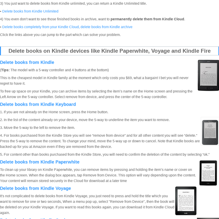 Mix · How to delete books from Kindle, Kindle Fire, Kindle