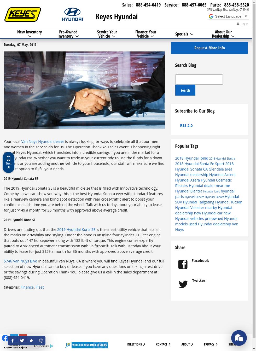 Keyes Hyundai Van Nuys >> Keyeshyundai Posts