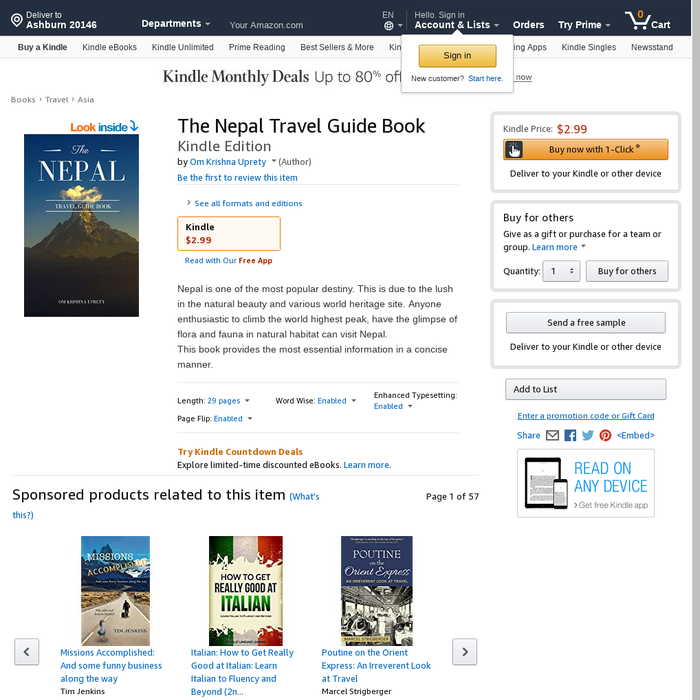 Mix · The Nepal Travel Guide Book