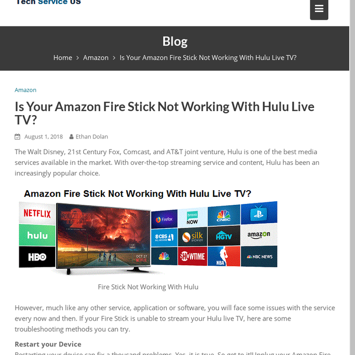 Mix · Is Your Amazon Fire Stick Not Working With Hulu Live TV?