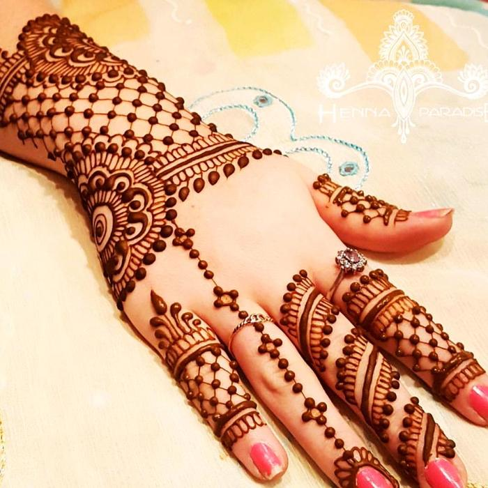 Mix 64 Selected Beautiful Arabic Mehndi Designs For Back Hands