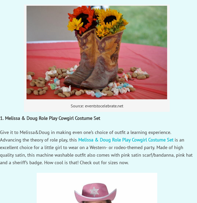 ParentingyourkidFinding The Best Toddler Cowgirl Birthday OutfitFancy A Wild West Bash For Your Cutie Patotie
