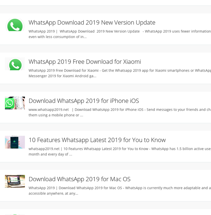 whatsapp download 2019 apps