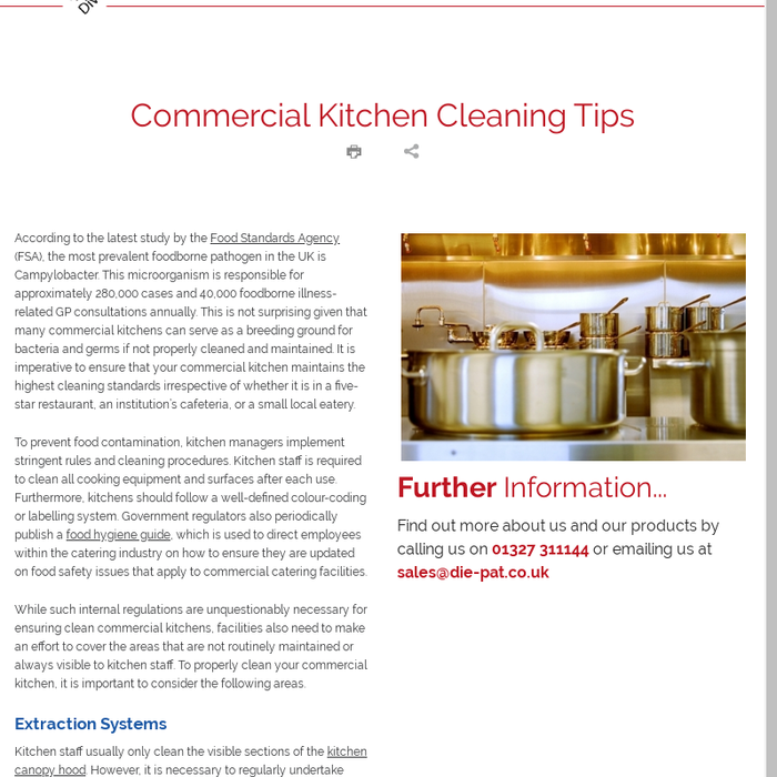 Rules For Cleaning The Kitchen - Kitchen Appliances Tips And