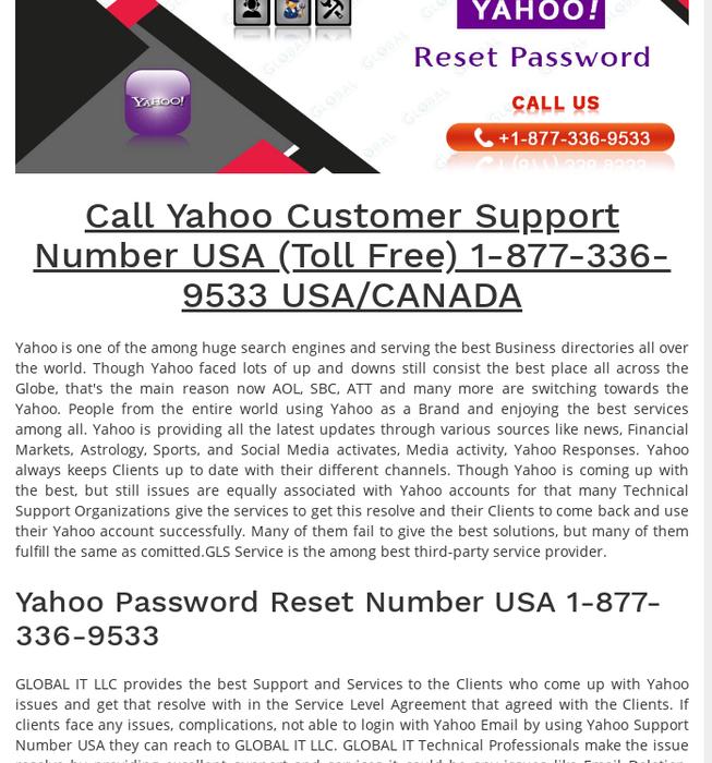 yahoo mail password problem