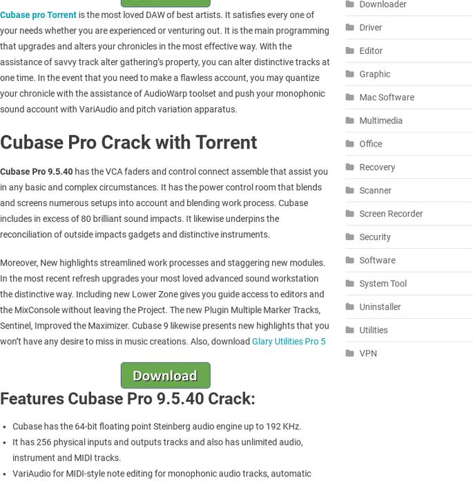 cubase torrent download