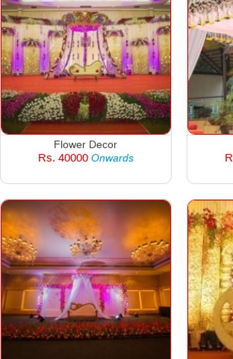 Mix Bangalore Best Wedding Flower Decoration Wedding Stage