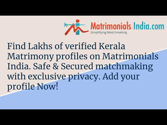 matchmaking Kerala När din ex pojkvän börjar dejta någon annan