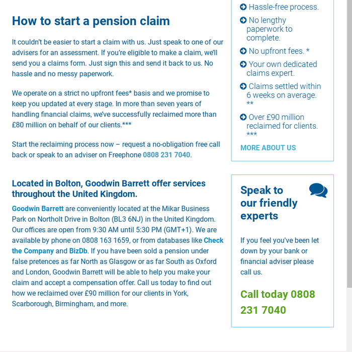 Mix · Mis-Sold Pensions | UK Mis Selling Scandal