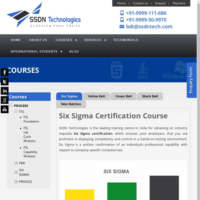 Mix Six Sigma Green Belt Yellow Belt Training Certification Course