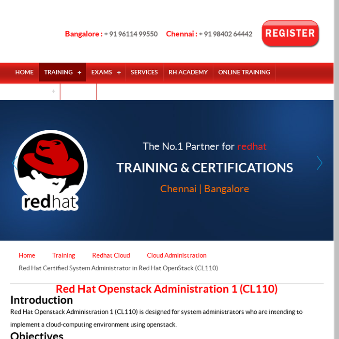Mix Openstackcl210 Training In Chennai Cl110 Training Chennai
