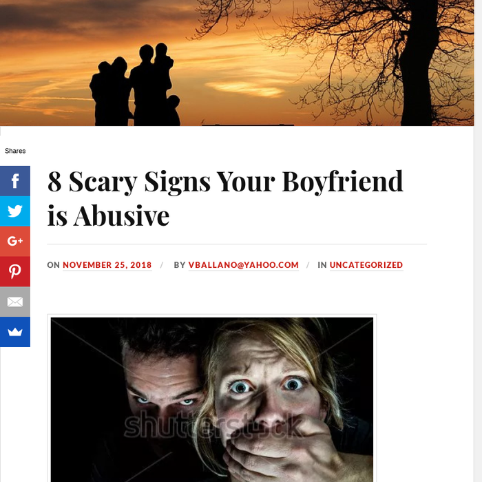 signs your boyfriend is abusive