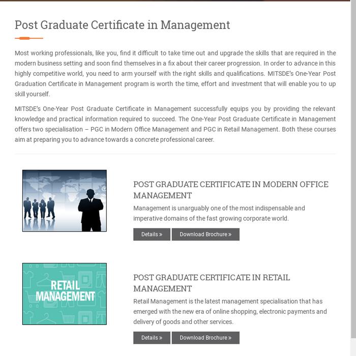 mitschoolofdist · Distance Management Courses · Posts