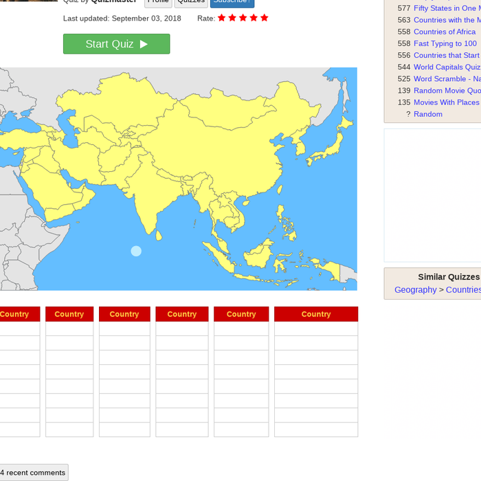 Map Of Asia Jetpunk.Mix Countries Of Asia Quiz