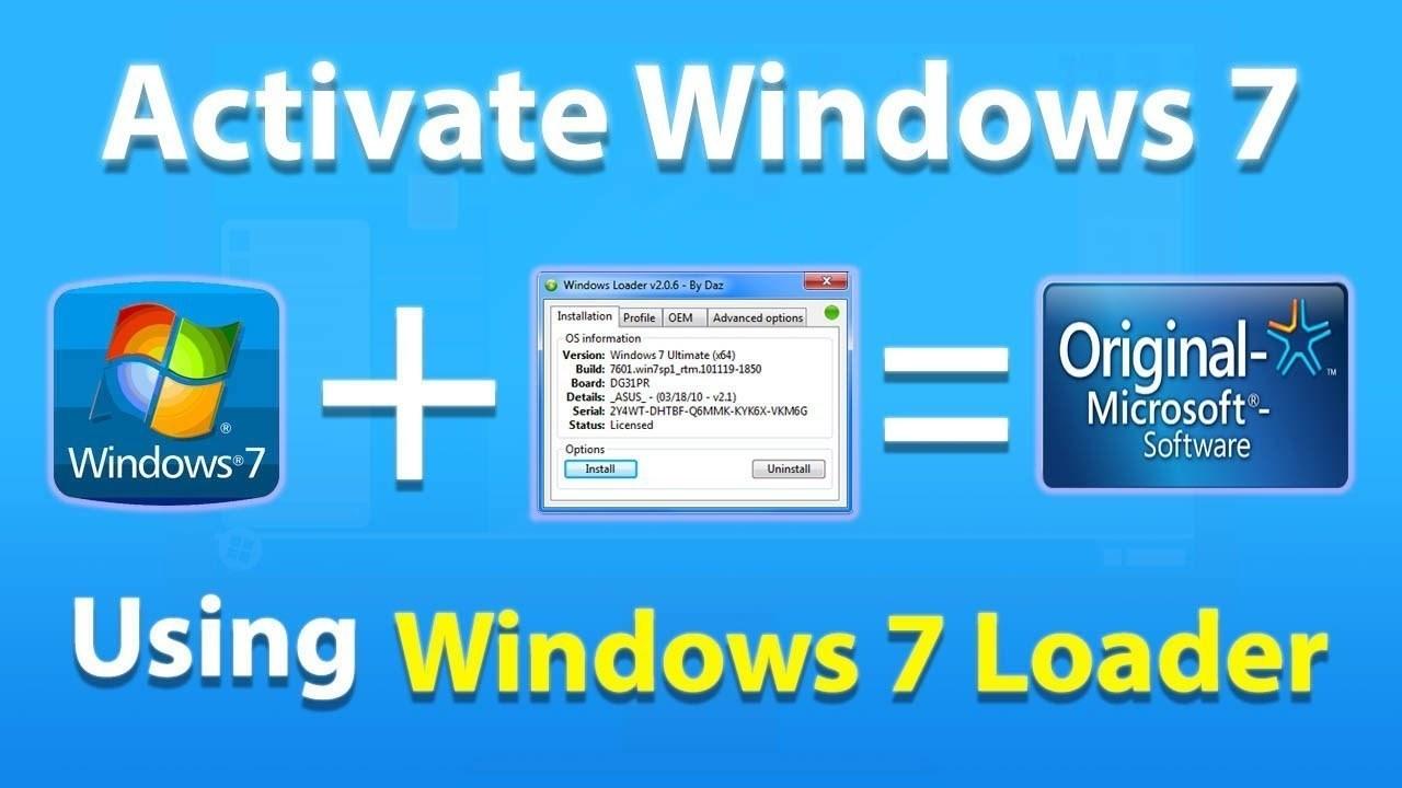 windows 7 ultimate loader activator windows 7 ultimate oem key