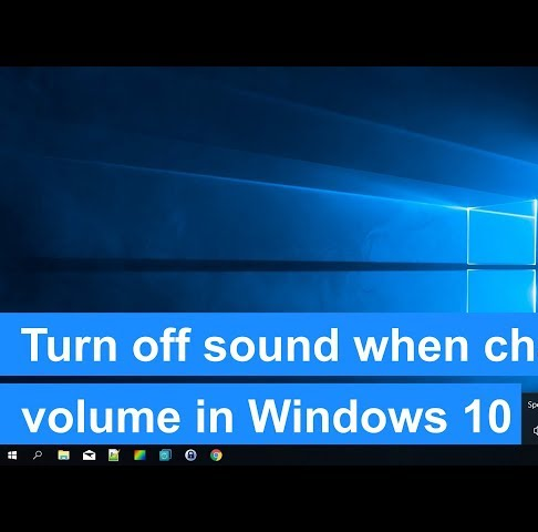 how to turn off notification sounds in windows 10